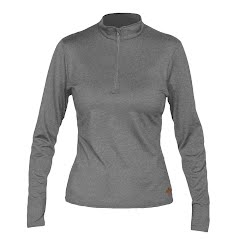 Hot Chillys Women's Micro Elite Chamois Zip T Image