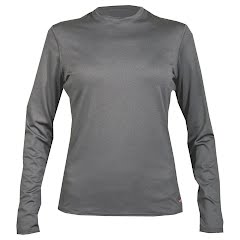Hot Chillys Women's Micro-Elite Chamois Midweight Crew Image
