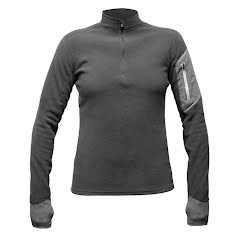 Hot Chillys Women's LA Montana Zip-T Image