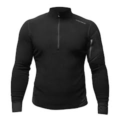 Hot Chillys Men's La Montana Zip-T (XXL) Image