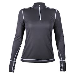 Hot Chillys Women's Geo-Pro Zip-T Image