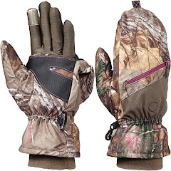 Hot Shot Women`s Huntress Pop-Top Mittens Image