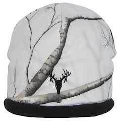 Hot Shot Youth Mustang Camo Stretch Beanie Image