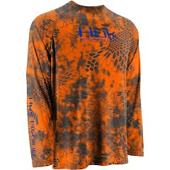 Huk Men's Kryptek Performance Raglan Long Sleeve Shirt Image