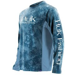 Huk Men's Icon Camo Long Sleeve Image