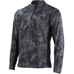 Huk Men's Icon X Camo 1/4 Zip Long Sleeve Shirt Image
