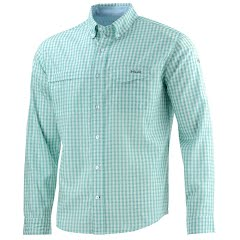Huk Men's Tide Point Woven Plaid Long Sleeve Shirt Image