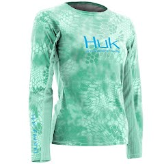 Huk Women's Kryptek Icon Long Sleeve Crew Image
