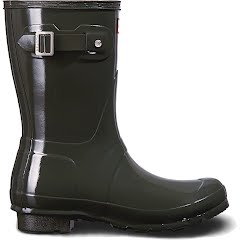 Hunter Women's Original Short Gloss Rain Boots Image