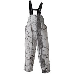 Huntworth Mens Micro-fiber Waterproof Rain Bib Image