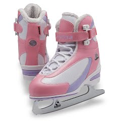 Jackson Ultima Girls Youth Softec Classic Figure Skates Image