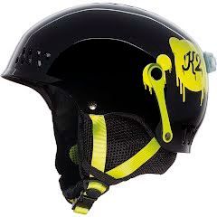 K2 Girl's Youth Entity Snow and Bike Helmet Image