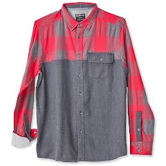 Kavu Men`s South Fork Long Sleeve Flannel Shirt Image