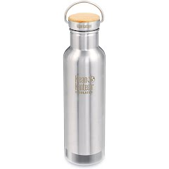 Klean Kanteen 20oz Reflect Bottle with Bamboo Cap Image