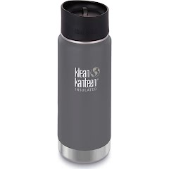 Klean Kanteen 16oz Insulated Wide Bottle with Cafe Cap Image