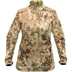 Kryptek Apparel Women's Valhalla 2 1/4 Zip Shirt Image