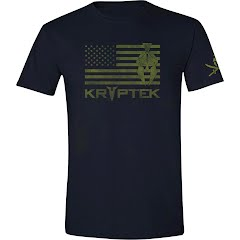 Kryptek Apparel Men's Spartan Flag S/S Tee Image