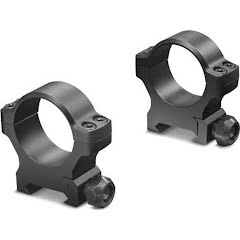 Leupold BackCountry Cross-Slot 30mm Rings (Medium Matte) Image
