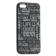 Life Is Good LIG Sayings iPhone 5/5s Cover Image
