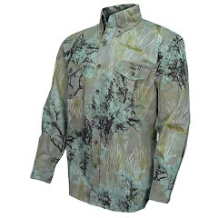 Montana Camo Mens Camouflage Button Down Shirt Image