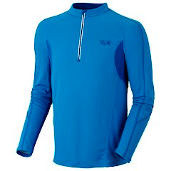 Mountain Hardwear Men's Elmoro Long Sleeve Zip Tee Image