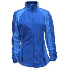 M T Mountaineering Women's Waffle Fleece Full Zip Jacket Image