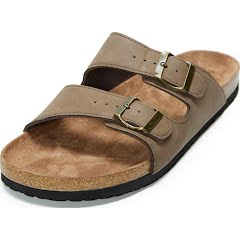 Northside Men's Phoenix Cork Suede Sandals Image