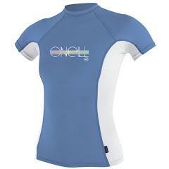 Oneill Girls Youth Skins S/S Rashguard Image