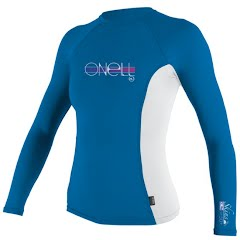 Oneill Girls Youth L/S Crew Rashguard Image