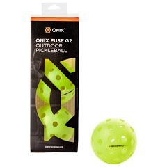 Onix Fuse G2 Outdoor Pickleballs (3 Pack) Image