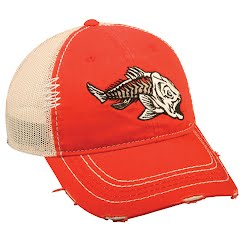 Outdoor Cap Redfish Bonefish Meshback Cap Image