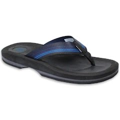 Rafters Men's Tsunami Stripe Flip Sandals Image