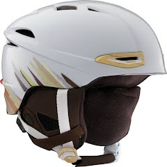 Red Women's Drift Snow Helmet Image