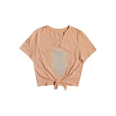 Roxy Women's Pineapple Sun Notched Crew Tee Image