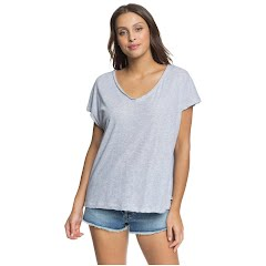 Roxy Women's Secret Mix V-Neck Tee Image