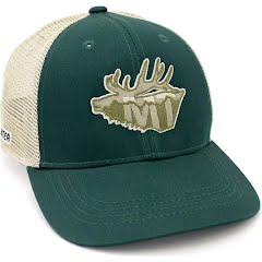 Rep Your Water Montana Elk Hat Image