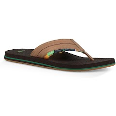 Sanuk Men's Beer Cozy 2 TX Sandals Image