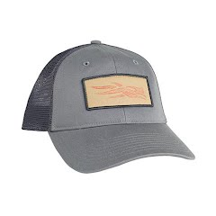 Sitka Gear Topo Logo Patch Trucker Hat Image