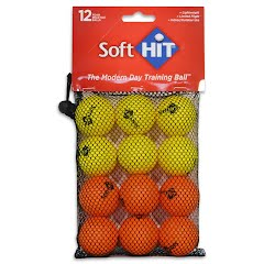 Soft Hit Practice Golf Balls (12 Pack) Image