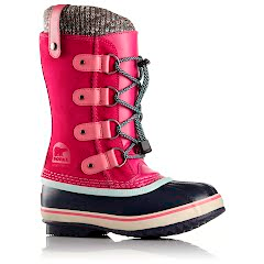 Sorel Youth Girl`s Joan of Arctic Knit Winter Boot Image