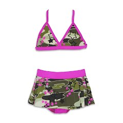 Speedo Girls Youth 2-Piece Swimskirt Image