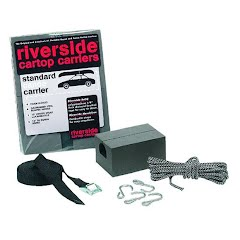Seattle Sports Riverside 6 in. Standard Canoe Cartop Carrier Kit Image