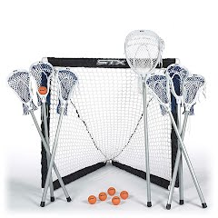 Stx FiddleSTX 7 Stick Lacrosse Game Set Image
