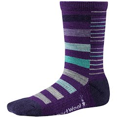 Smartwool Youth Girl's Split Stripe Sock Image