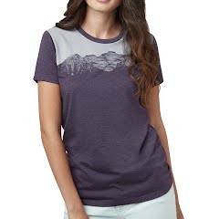 Tentree Women's Mountain Juniper Short Sleeve Tee Image