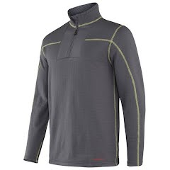 Terramar Men`s Ecolator Quarter Zip (Extended Sizes) Image