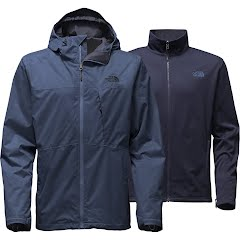 The North Face Men`s Arrowood Triclimate Jacket (Extended Sizes) Image