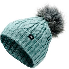The North Face Women's Oh-Mega Fur Pom Beanie Image
