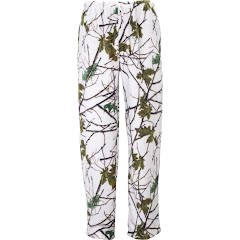 Trail Crest Women's Snow Forest Camo Daysor Lounge Pajama Bottom Image