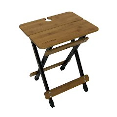 Travel Chair Side Kanpai Bamboo Table Image